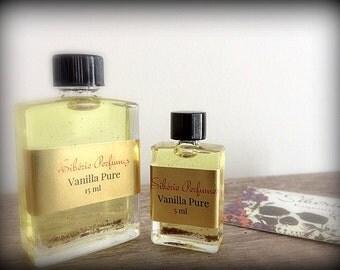 ORGANIC VANILLA BEAN Perfume Oil - Aged,Bourbon Vanilla Bean,Layering Perfume,Vegan Perfume,Natural Perfume,Vanilla Perfume, Best Seller