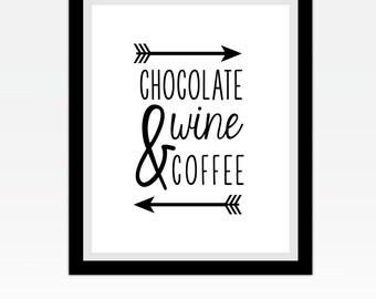 Chocolate Wine & Coffee