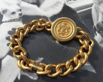 1980's Giorgio Beverly Hills  Monogram Bracelet