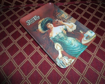 Vintage Pepsi Cola Melamine Plastic Tip Tray Gibson Girl made in Italy