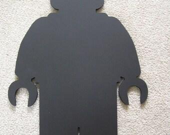 Lego Man Minifigure Blackboard/Chalkboard