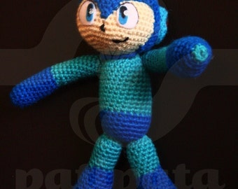 Mega Man - 23cm amigurumi