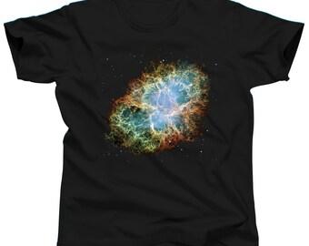 Nebula Shirt - Galaxy - Crab Nebula - Space - Earth - Solar System - Moon - Constellation - Stars - NASA - HUBBLE - Astronaut - Crab Pulsar