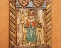 Santo Nino de Atocha, Mission Church, El Santuario de Chimayó, Holy Infant, Wall Decor, Wall Art, Historic Site , Chimayo Site, 8x10, 5x7