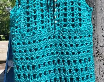 Seaside Crochet Swimsuit Cover-Up