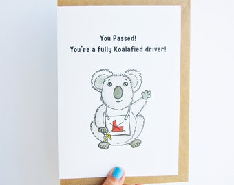 You Passed! - Driving test card