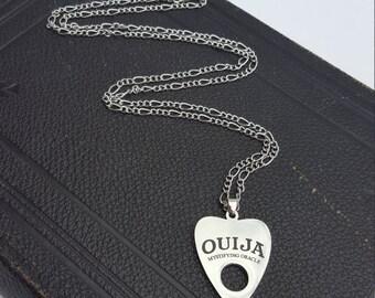 Mystifying Oracle ~ Ouija Board Planchette pendant