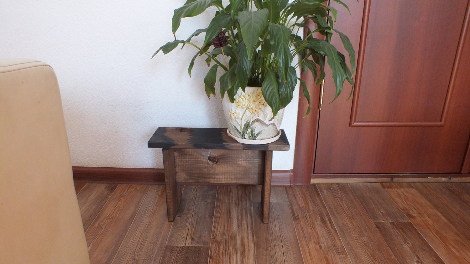 Plant stand wood plant stand indoor plant stand small Plant stands for indoors