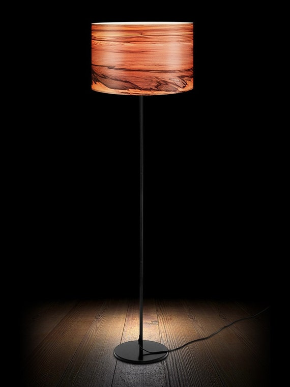 Wooden Floor Lampnatural Wood Lampsveneer Lamps Lighting