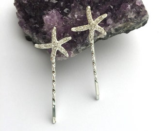 Hair Pins Set of 2 Crystal Hair Accessories