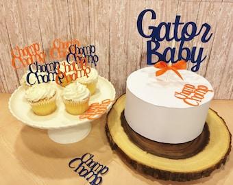 Orange baby shower etsy - Florida gators bathroom decor ...