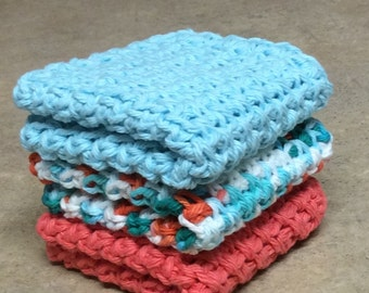 Dishcloth, Washcloth - Set of 3
