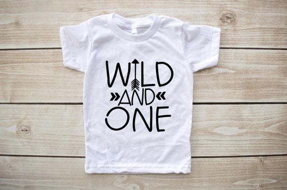 Wild one first birthday shirt wild and one birthday by ...