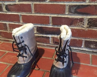 Vintage Duck Boots (Women's Size 6) PRICE REDUCED