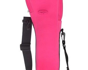 Pink oxygen cylinder carrier