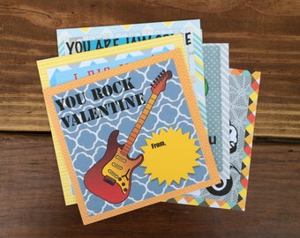Valentines Day Cards for Boys (Set of 6)