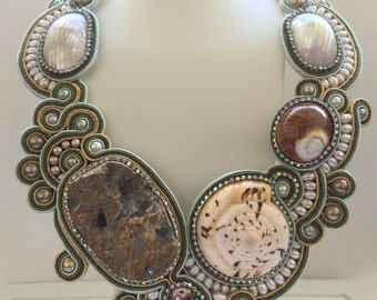 Exclusive Designer Statement Necklace - special occasion and wedding