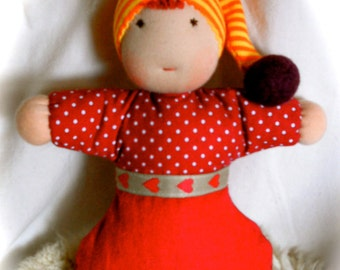 The first cuddle doll