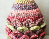Baby hat. Girls crochet p...