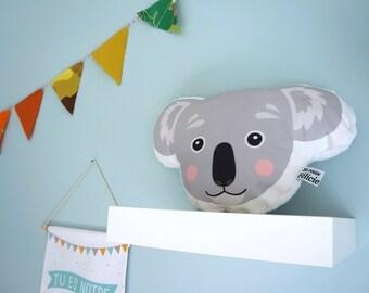 Cushion koala, children room decoration