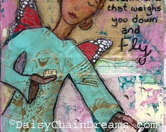 Wings to Fly - Print