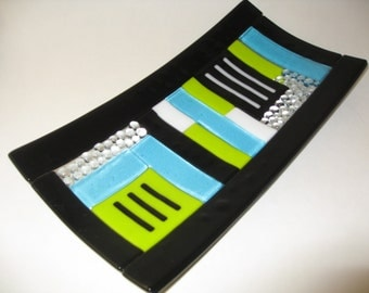 Fused Glass Sushi Platter