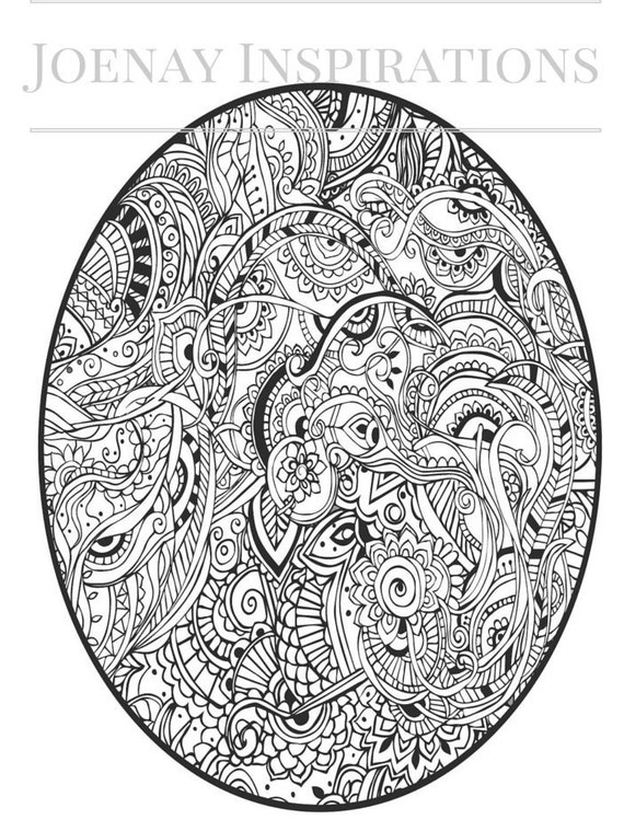 Adult Coloring Book, Printable Coloring Pages, Coloring Pages, Coloring Book for Adults, Instant Download, I love 70s 1 page 7