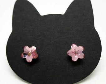 Cat Eyes! Sakura Anti-allergy Earrings