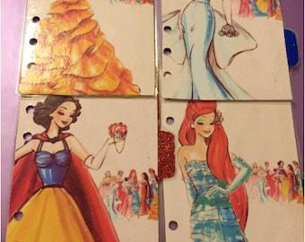 D2 // Disney Princess Dividers (Set 1)