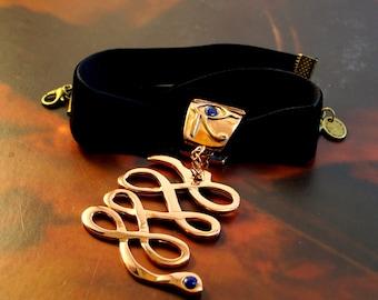 Apep Copper Pendant