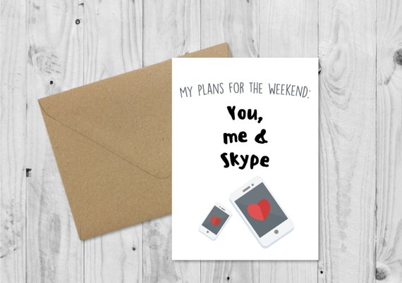 C011 Long Distance Relationship Boyfriend Card Boyfriend