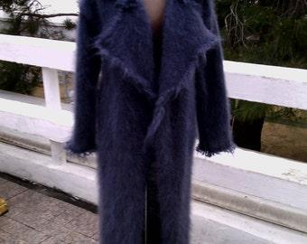 Women's knitted coat