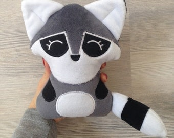 Rocky The Raccoon plush stuffed toy perfect present