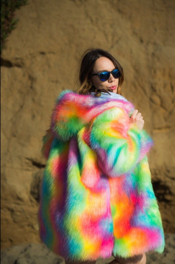 Find color faux fur coat at ShopStyle. Shop the latest collection of color faux fur coat from the most popular stores - all in one place.