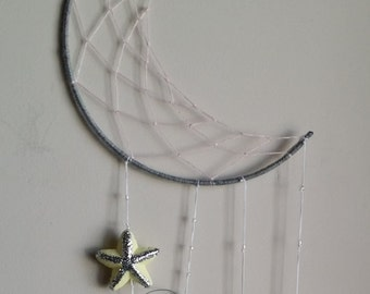 To the moon & back dream catcher