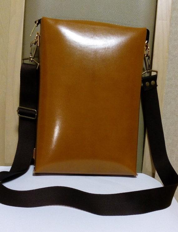 genuine leather cross bag backpack enabled natural tan color