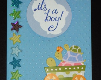It's a Boy! - Baby Congratulations Greeting Card