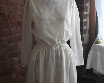 Fair Maiden White Floor Length Dress