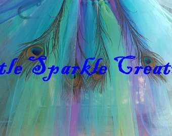 Peacock Costume , peacock outfit , peacock Tutus, Peacock dress, peacock tutu Outfit