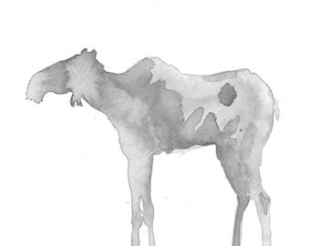 Moose Ink Print
