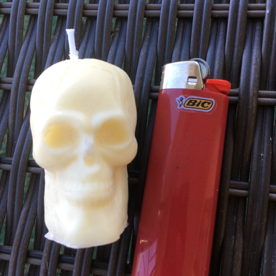 Spooky Skelly Candle - Tropical - Skeleton Soy Candle - 100% Soy