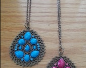 Earthy Ethnic Brass Necklace!