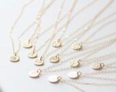 Capricorn Necklace, Zodiac Necklace, Gold Capricorn, Zodiac Jewelry, January Birthday Gift, Capricorn Sign, Dainty, Small Capricorn Charm