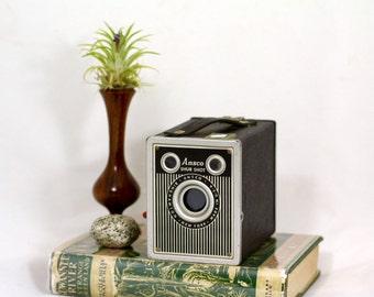 Ansco Shur Shot Box Camera, Vintage 120