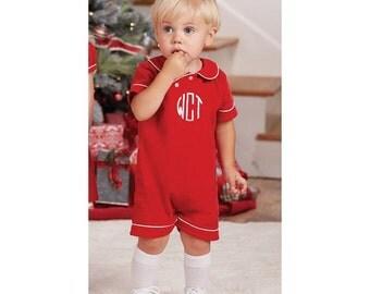 Baby girl Christmas dress Toddler Monogrammed Christmas