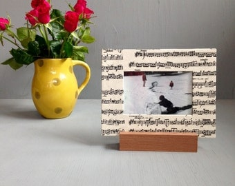 Music Frame, Gift for a Musician, Unique Frame