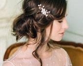 Damigelle d'onore copricapo-sposa accessori sposa fiore copricapo mini pettine - Nancy