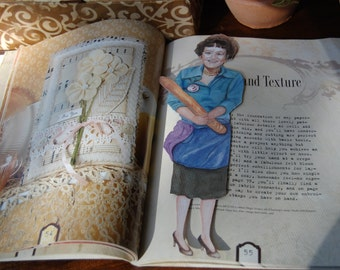 Julia Child bookmark
