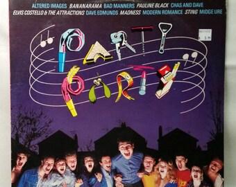 Party Party - 80s Soundtrack - Vintage Vinyl Record - Various Artists - 1982 LP