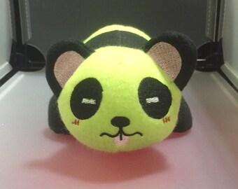 Panda Plush Plushie Toy Lu the Green Panda